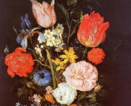 Pareti verdi ; I fiori di Breughel de Velourd