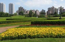 Curitiba in Brasile