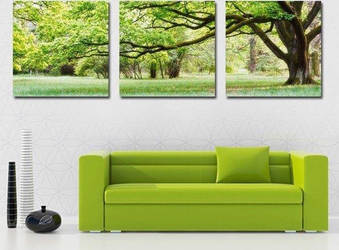 paretiverdi  Come arredare il vostro soggiorno con un giardino ...