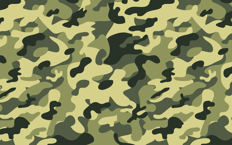 Il Green Camouflage